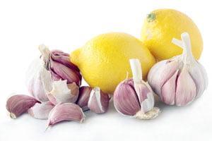 عصاره سیر و لیمو ترش
