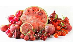 فواید میوهها و سبزیجات قرمز رنگ برای سلامتی بدن
