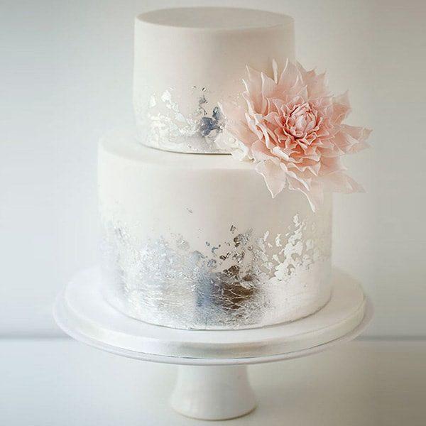 ورق نقره نانو سیلور خوراکی تزیین انواع کیک برای مهمانی های لاکچری و جشن تولد