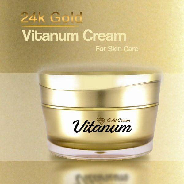 کرم طلا ویتانوم خاصیت جوان سازی پوست
