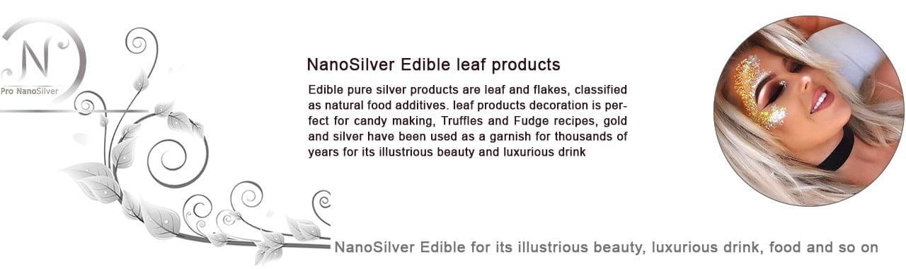 ورق نقره نانو سیلور خوراکی مصارف ماسک آرایشی آن جهت تغذیه پوست