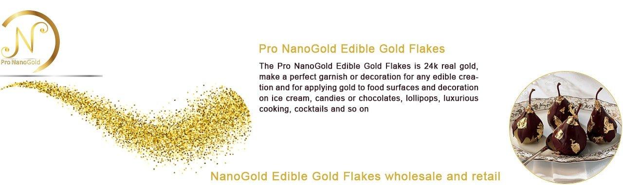 فلیک طلا نانو گلد خوراکی برای تقویت عمومی بدن و نیروی جنسی