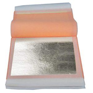 ورق نقره نانو سیلور خوراکی خالص جهت مصارف دارویی، آرایشی و غذایی