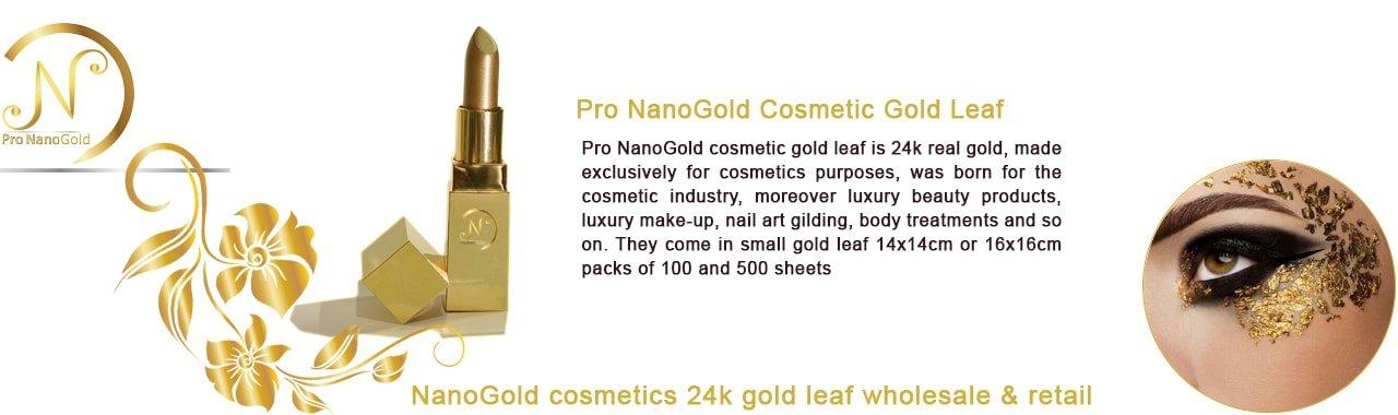 ورق طلا نانو گلد آرایشی بهترین تغذیه برای مراقبت از پوست