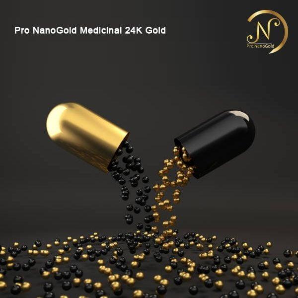 ورق طلا نانوگلد دارویی