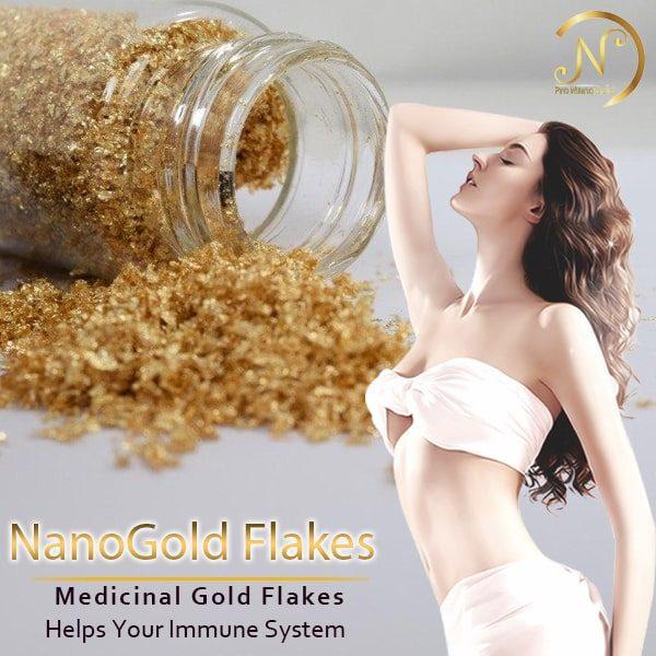 پودر طلا نانوگلد دارویی