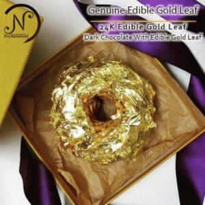 ورق طلا ۲۴ عیار خوراکی