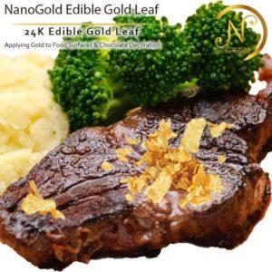 ورق طلا نانوگلد خوراکی