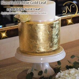 ورق طلا خوراکی نانوگلد